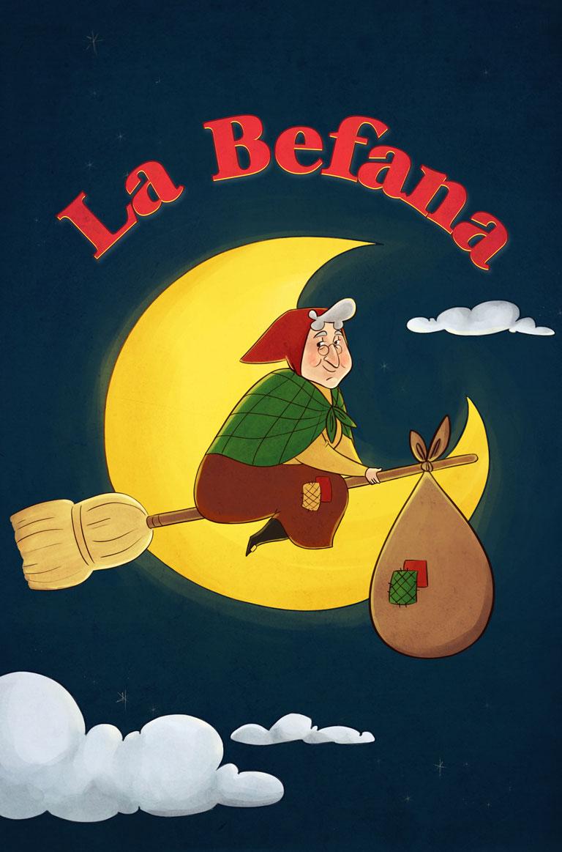 La Befana Christmas Craft