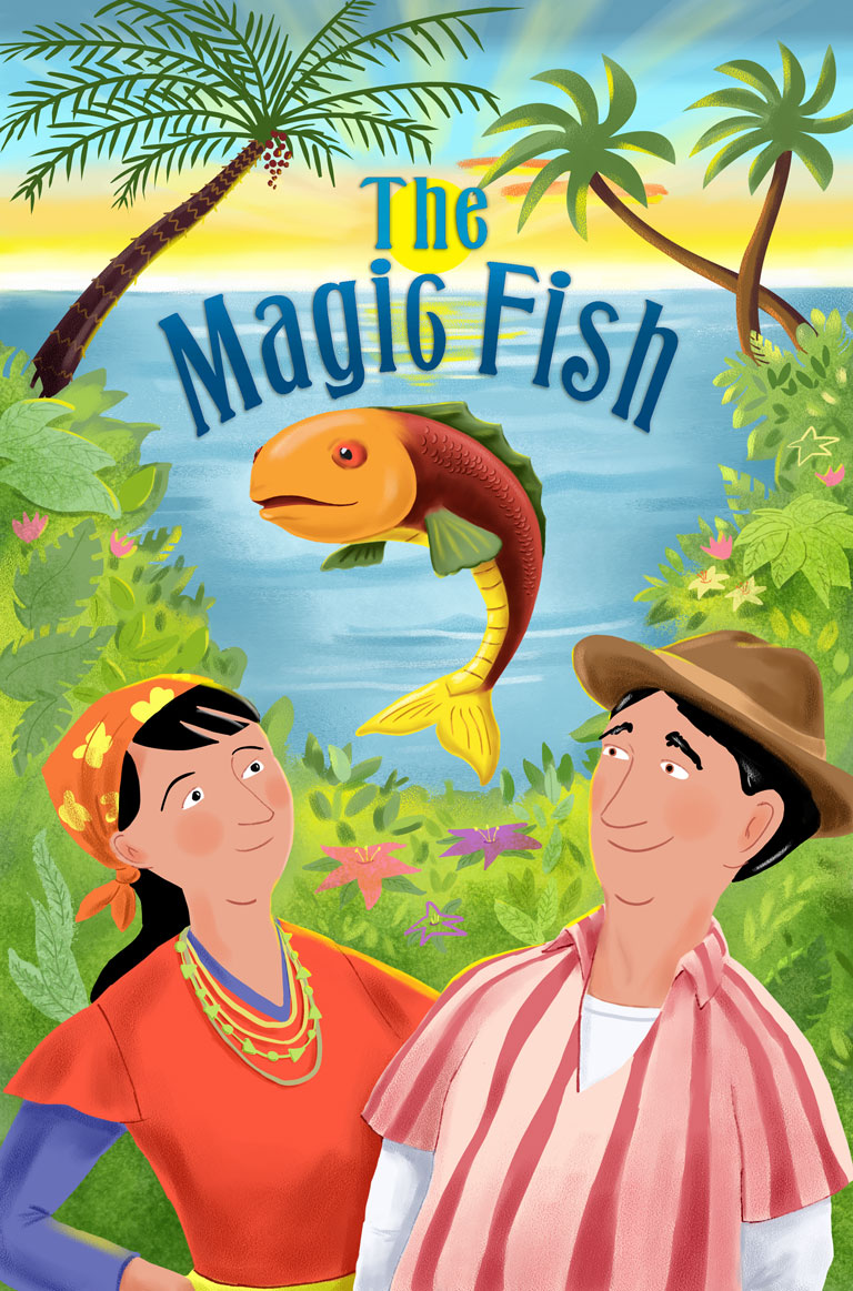 The magic fish farfaria for Fish short story