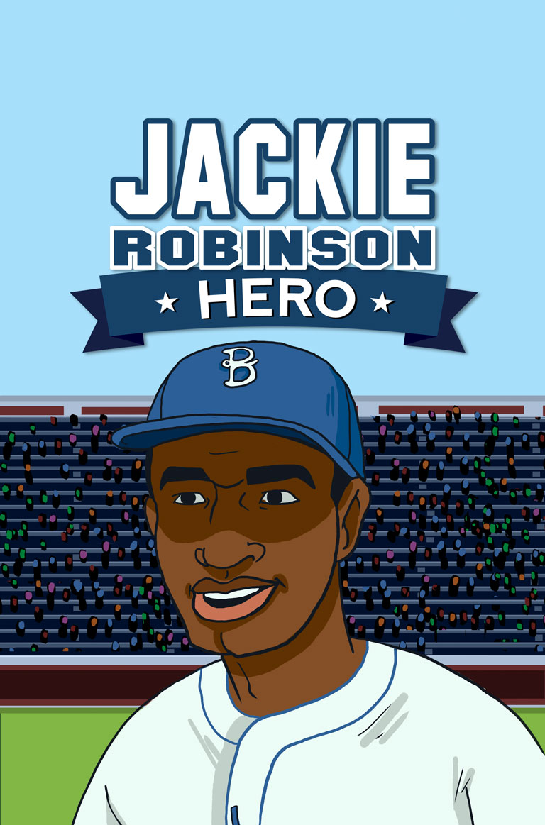 jackie robinson hero The courage jackie robinson had was unbelievable throughout his career fans threatened to kill him and his family unless he quit this frightened jackie the most because he did not want to be responsible for any of his family members getting hurt.
