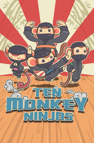Ten Monkey Ninjas
