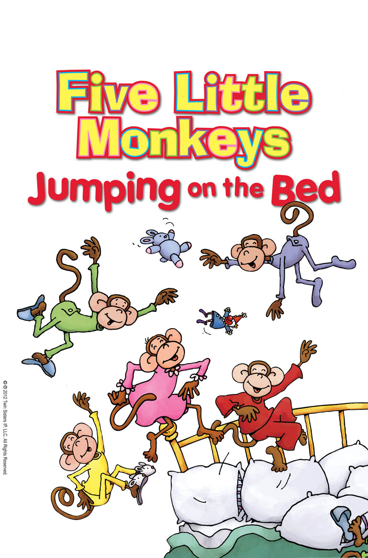 five little monkeys jumping on the bed farfaria