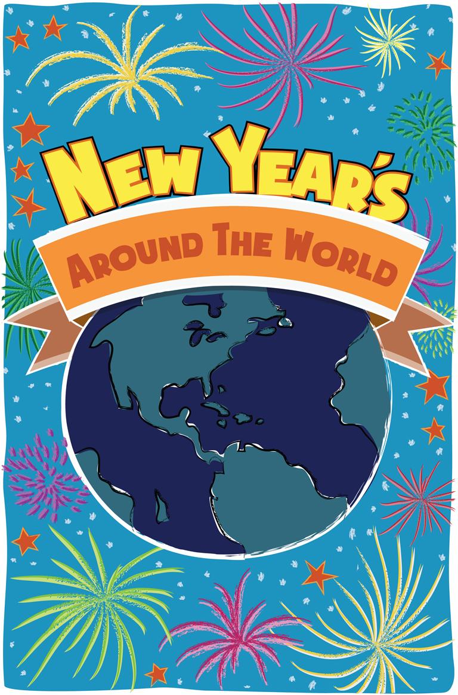 New Year S Around The World Farfaria