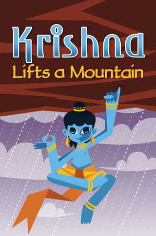 Krishna Lifts a Mountain
