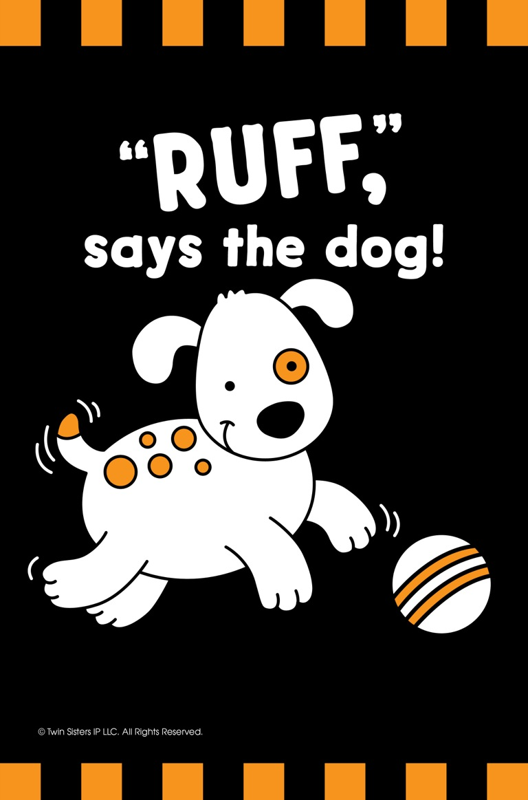ruff says the dog