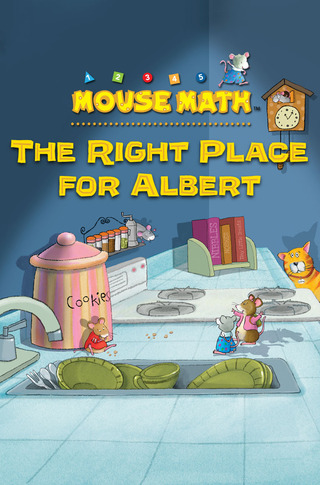 Mouse Math: The Right Place for Albert