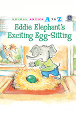 Animal Antics: Eddie Elephant's Exciting Egg-Sitting
