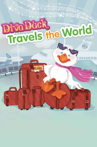 Diva Duck Travels the World