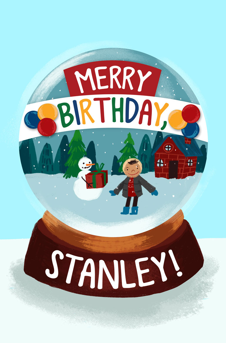 Merry Birthday Stanley Farfaria