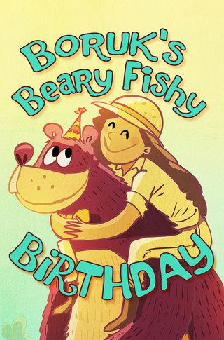 Boruk's Beary Fishy Birthday