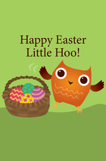 Happy Easter Little Hoo