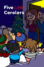 Five Little Carolers